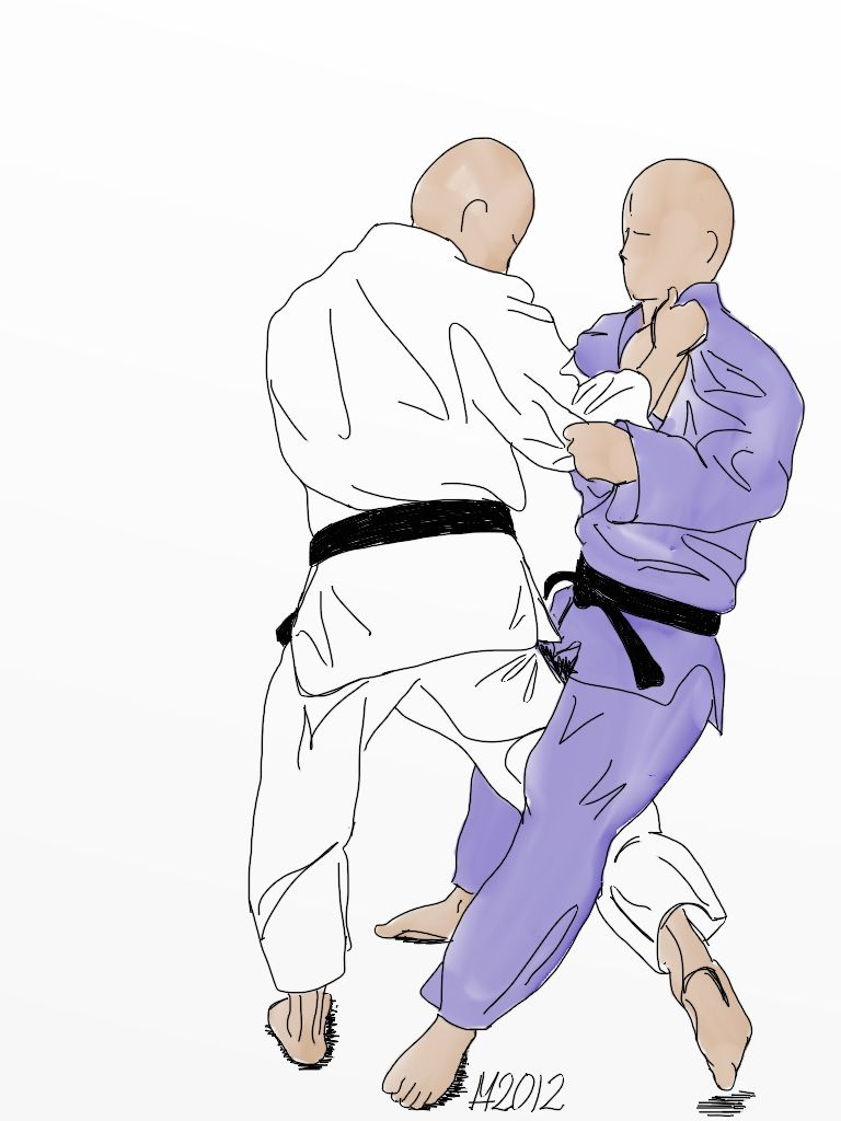 0fa288fb0e47 Tashi Waza   Ceinture Jaune   O uchi gari   Martial Arts   Pinterest ...