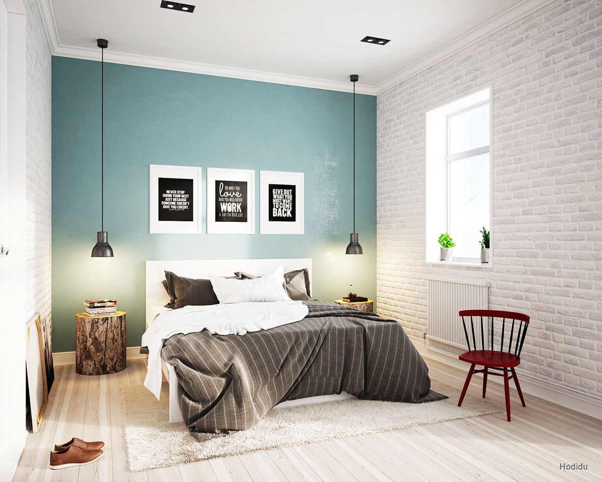 Best Bedroom Scandinavian Style On Behance Camera Da Letto 400 x 300