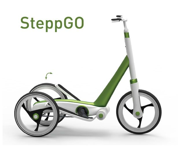 The Conceptual Design Of SteppGo Was Developed Within The