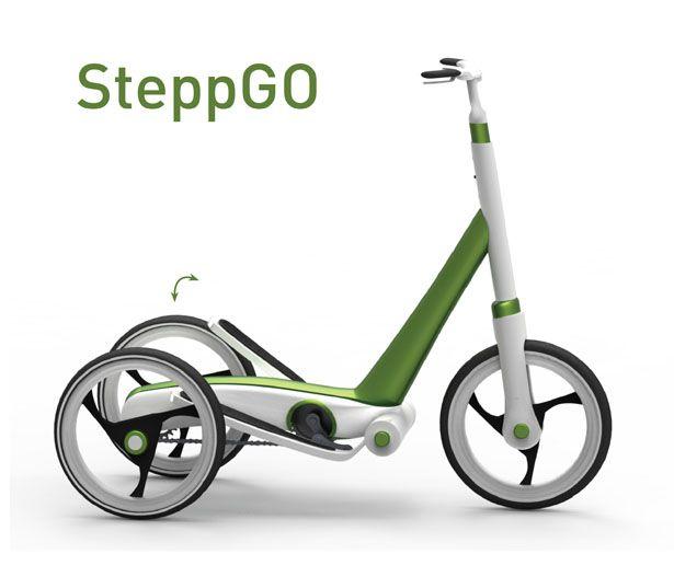 SteppGo – Human Powered Personal Transportation to Move Around the City