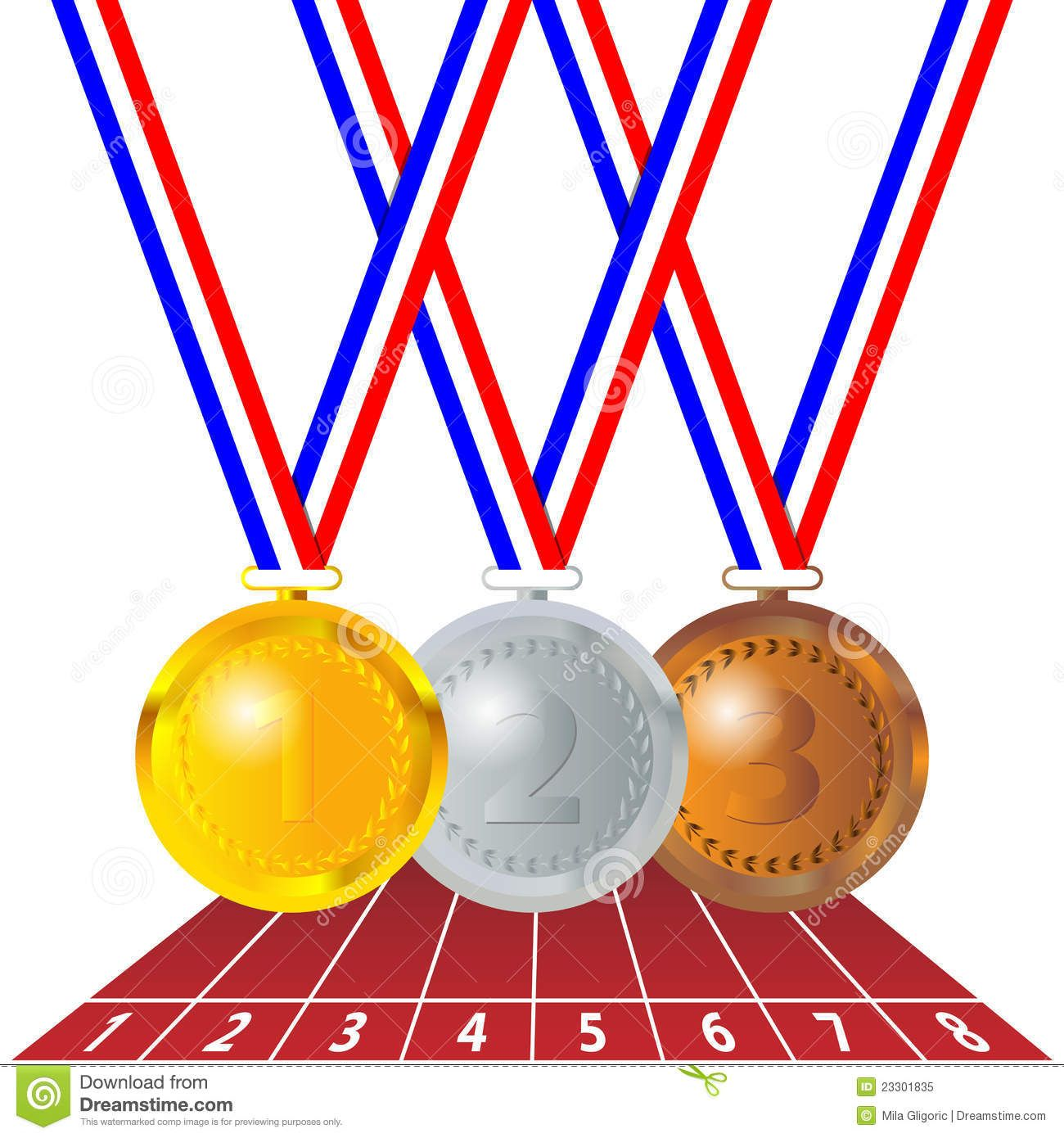 olympic medals royalty free stock photo image 23301835 racing rh pinterest com olympic bronze medal clipart