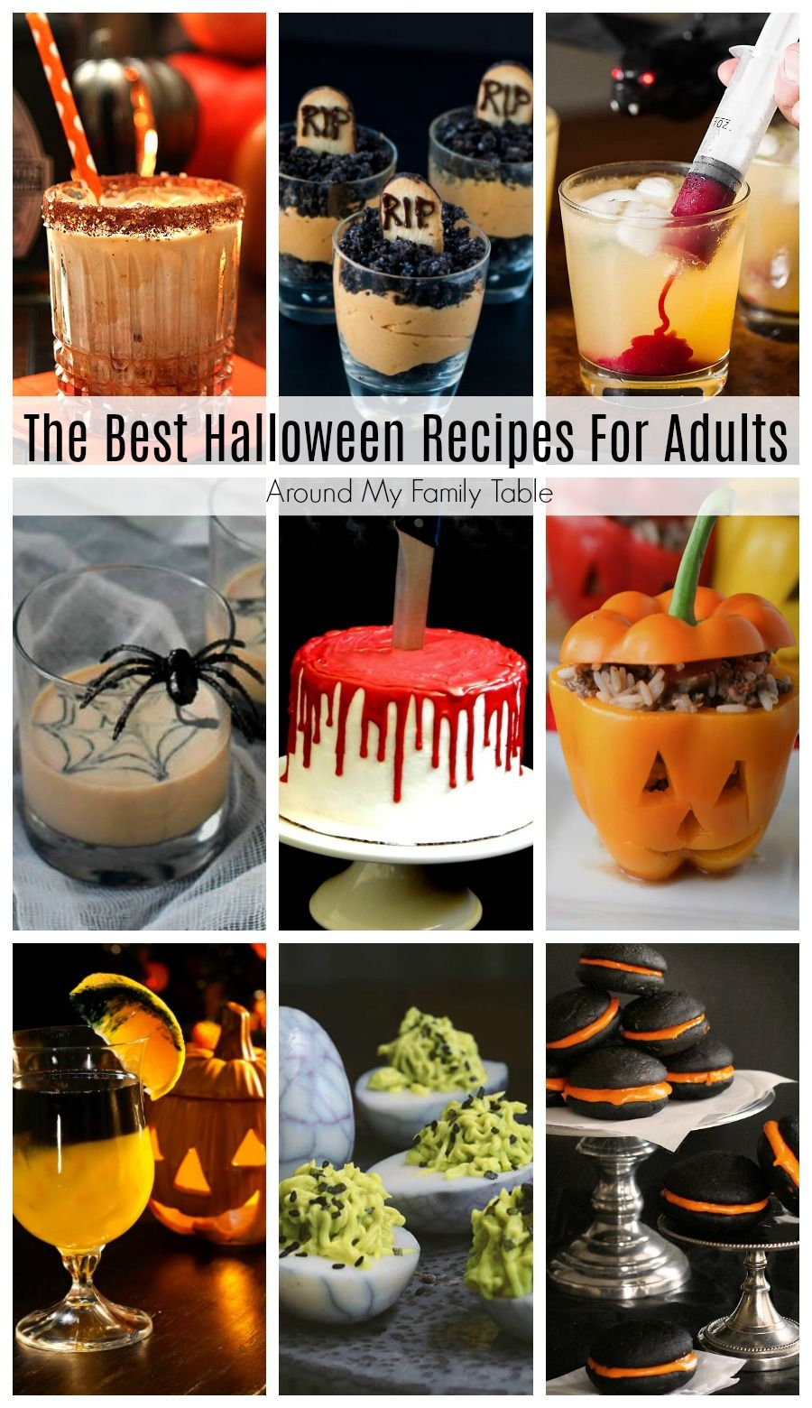 The Best Halloween Recipes for Adults Halloween