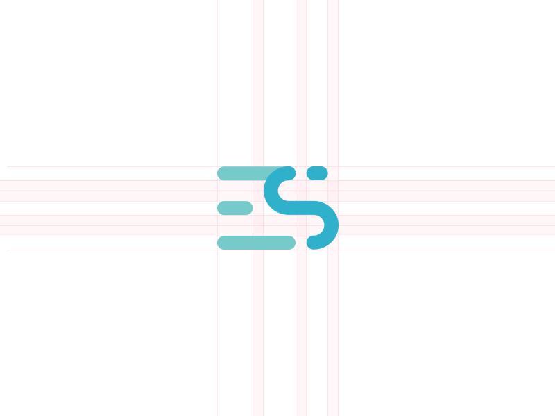 Es Monogram Logo Design Creative Trendy Logo Design Monogram