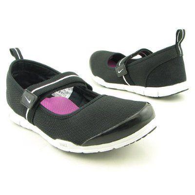 8dbf141fcda5 Free Mary Jane SI Black Flats Shoes - NIKE