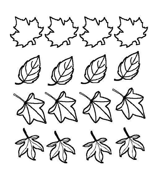 Recursos educativos Dibujos para colorear de otoo Dibujos y