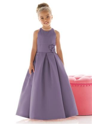 Flower Girl Dress FL4022 | Mis trabajos | Pinterest | Kleider ...