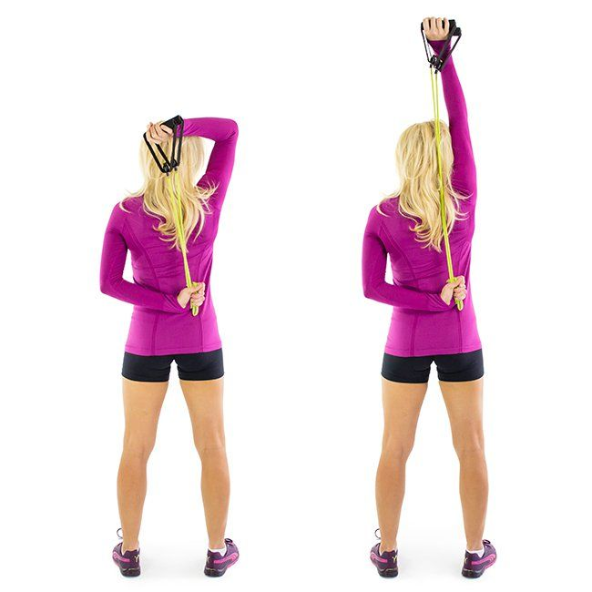 Exercise Bands Exercises Arms: 17 Moves For Sleek, Slender Arms
