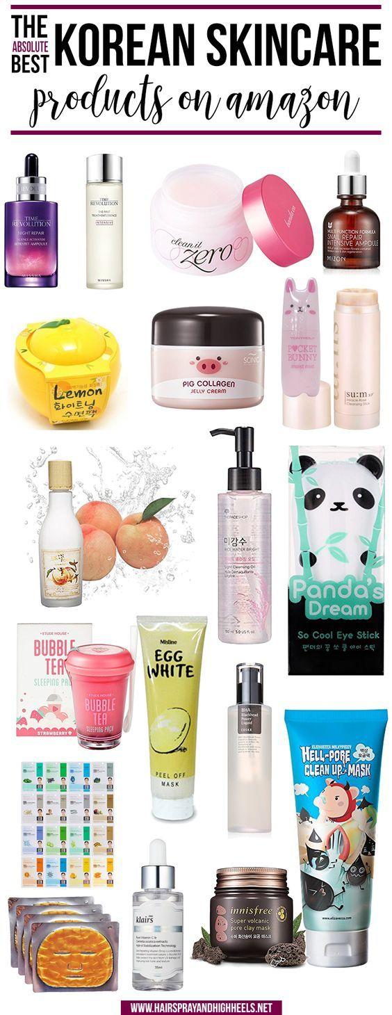 Best Korean Skincare On Amazon Hairspray And Highheels Korean Skincare Skin Care Skin Care Tips