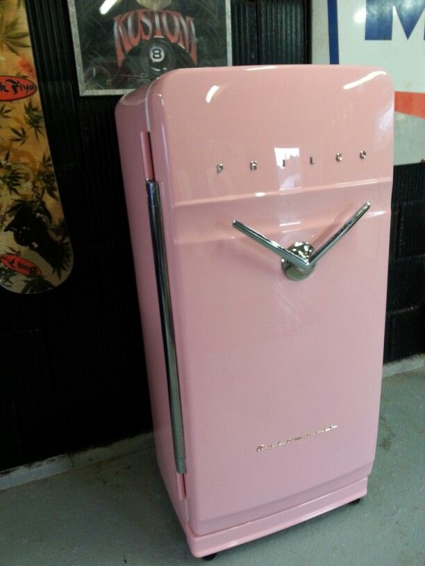 Philco V Handle Frigo Fifties Vendanges