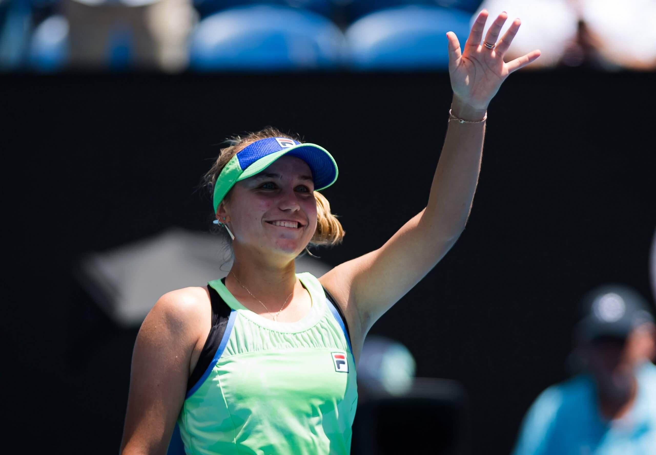 Florida S Kenin Takes Fairy Tale Australian Open Run Into The Final In 2020 Australian Open Garbine Muguruza Muguruza
