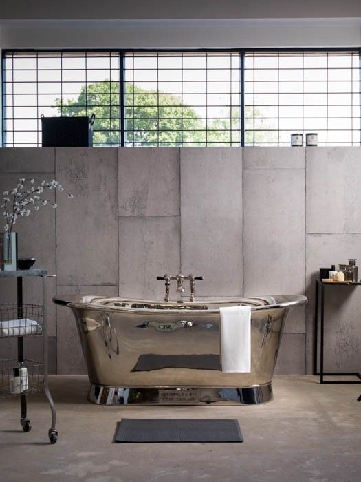 Industrial Design Bathroom Extraordinary The Nickel Bateaucatchpole & Rye Bathrooms #industrial #design Inspiration Design