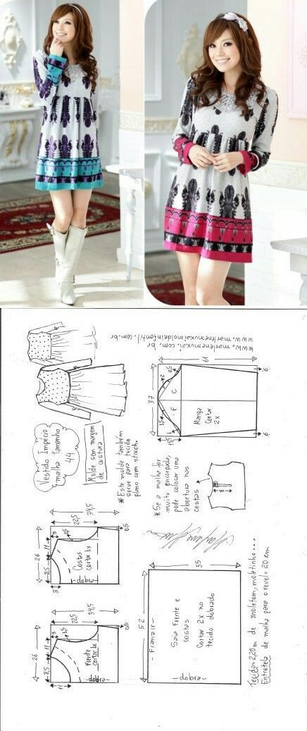 Long sleeved dress...<3 Deniz <3 #corteimperio   Ropa   Pinterest ...