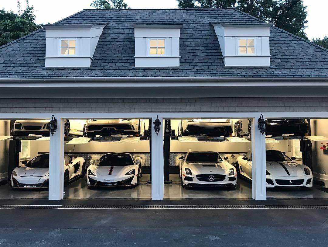 Pin By Mia On Garages Luxury Garage Garage Design Garage House