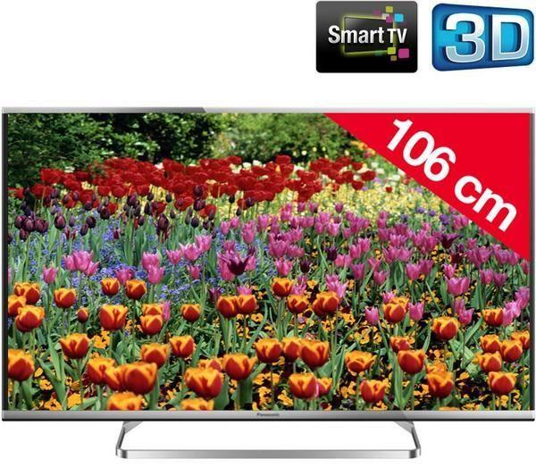 Panasonic Viera Tx 47as650e Televisore Led 3d Smart Tv Televiseur Tv Plasma