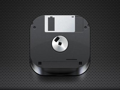 Floppy disk icon Mobile icon, App icon, Ios icon