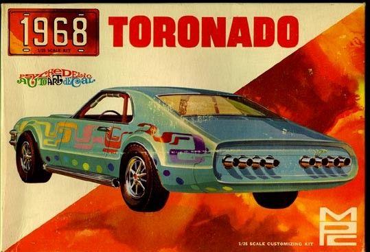 MPC 1968 Toronado box art