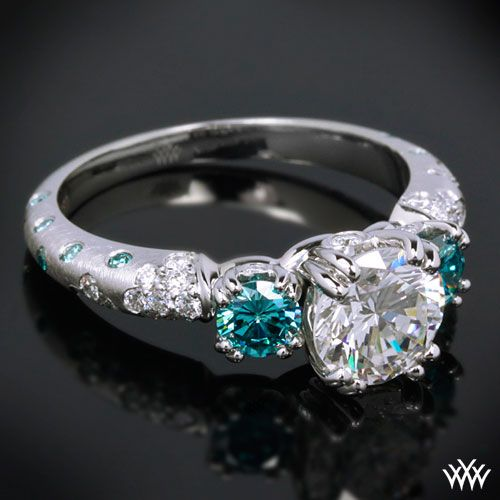 A Diamond Is For Now 3 Stone Engagement Rings Engagement
