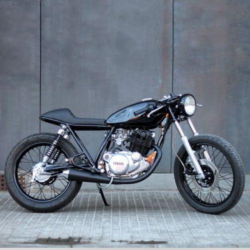 Caferacersofinstagram Instefans Yamaha Sr250 By Caferacersofinstagram Instefans Yamaha Sr250 By Kooltcreations A Cafe Racer Simple Bike Bike Culture