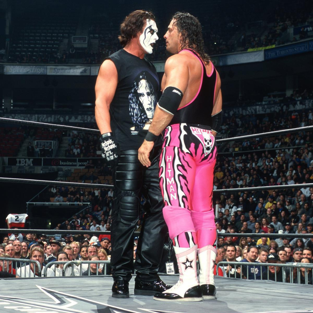 The Night In Montreal That Changed Bret Hart Shawn Michaels Careers Forever Wrestling Superstars Wcw Wrestlers Wrestling Wwe