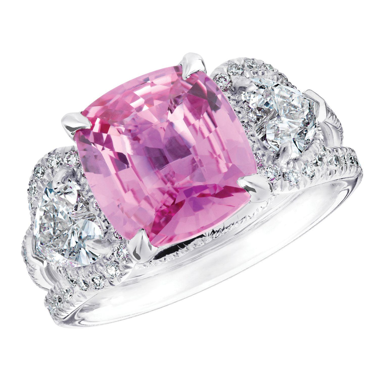 Fabergé Devotion Pink Sapphire 4.02cts Ring #Fabergé #sapphire #ring ...
