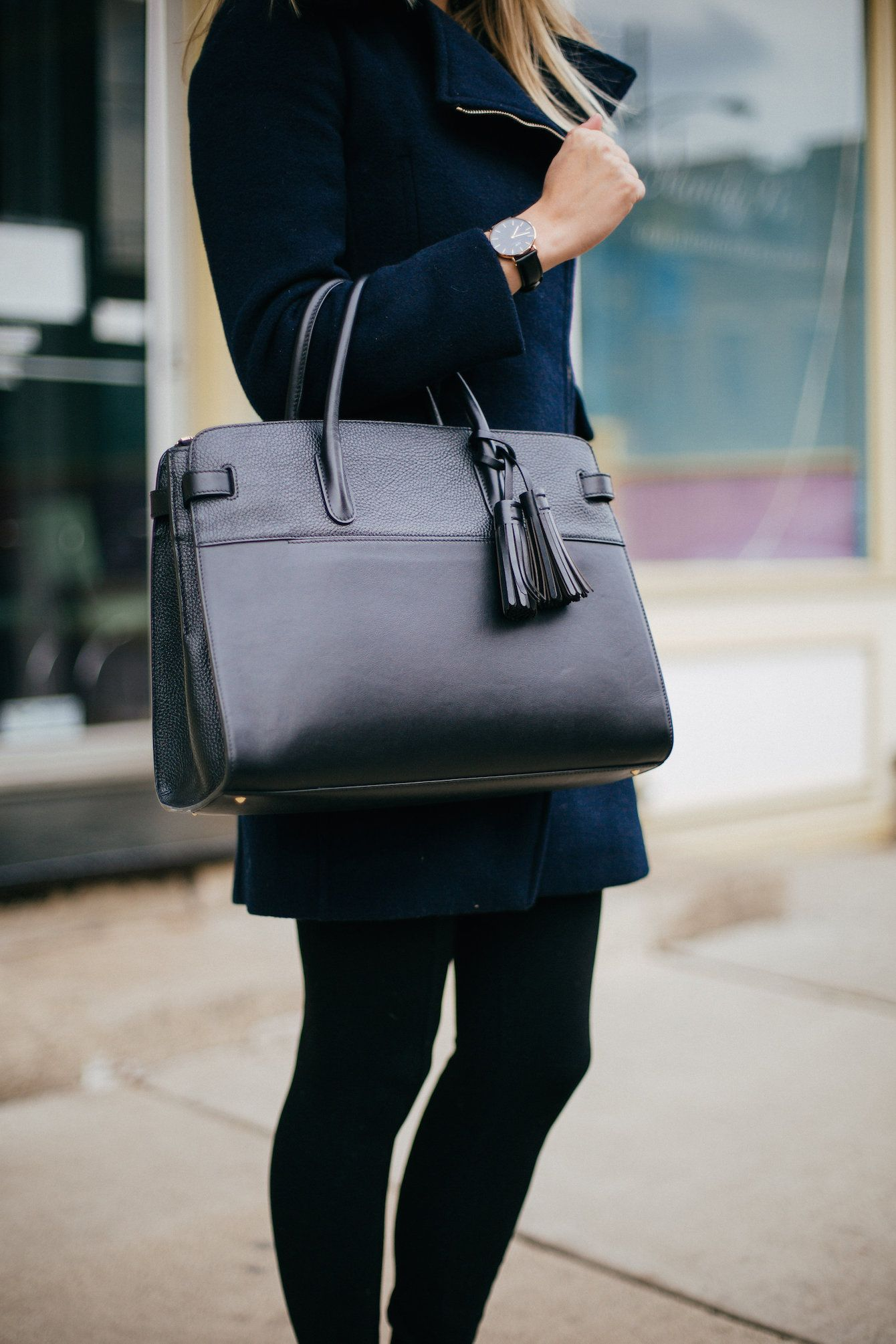 8c861c4a44139 My favorite Cuyana work satchel for winter