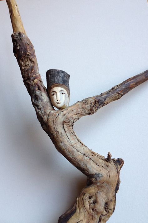 Driftwood Angels, carved Stick Men & uncommon Jewelry by DriftwoodAngels