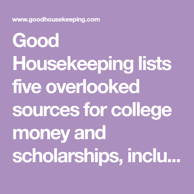 5 Overlooked Sources For Scholarships