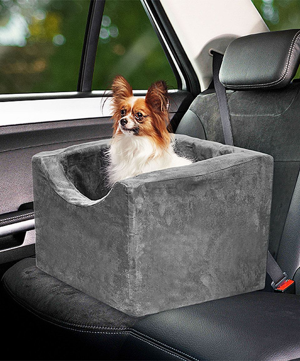 Precious Tails Gray Foam Pet Booster Seat by Precious
