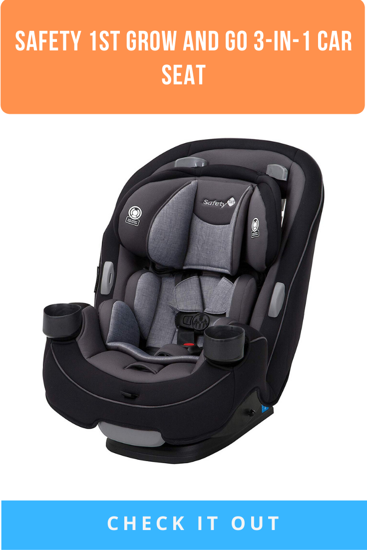 Safety 1st Grow and Go 3in1 Car Seat, Harvest Moon Car