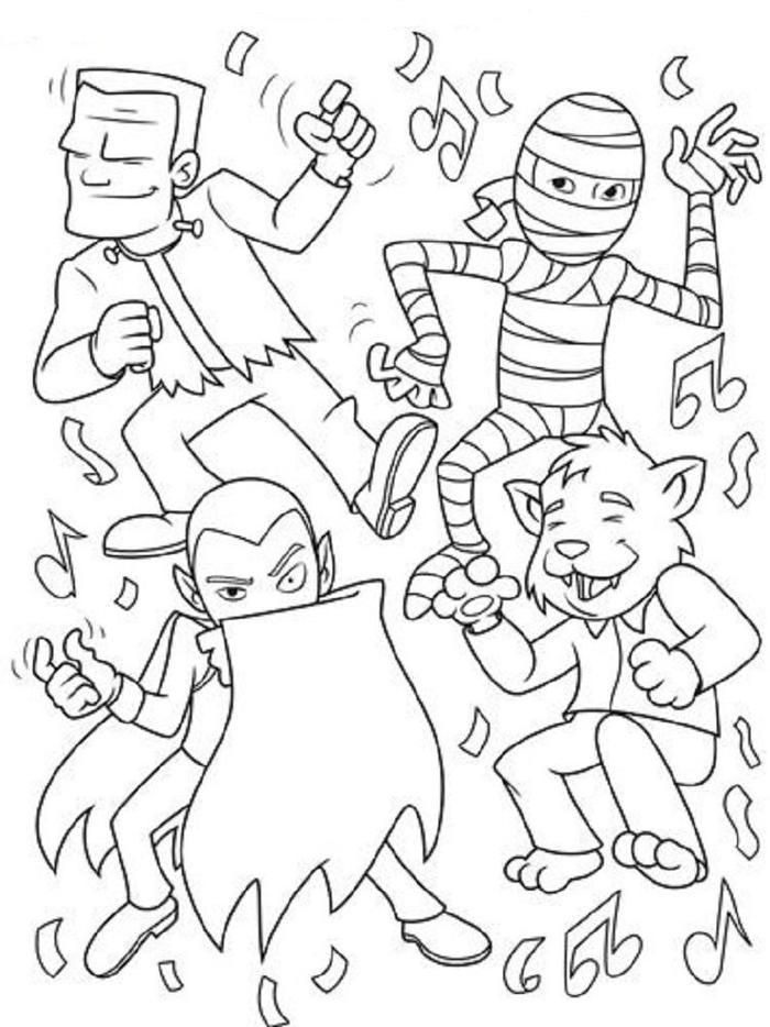 Halloween Crayola Coloring Pages Monster Coloring Pages Halloween Coloring Sheets Crayola Coloring Pages