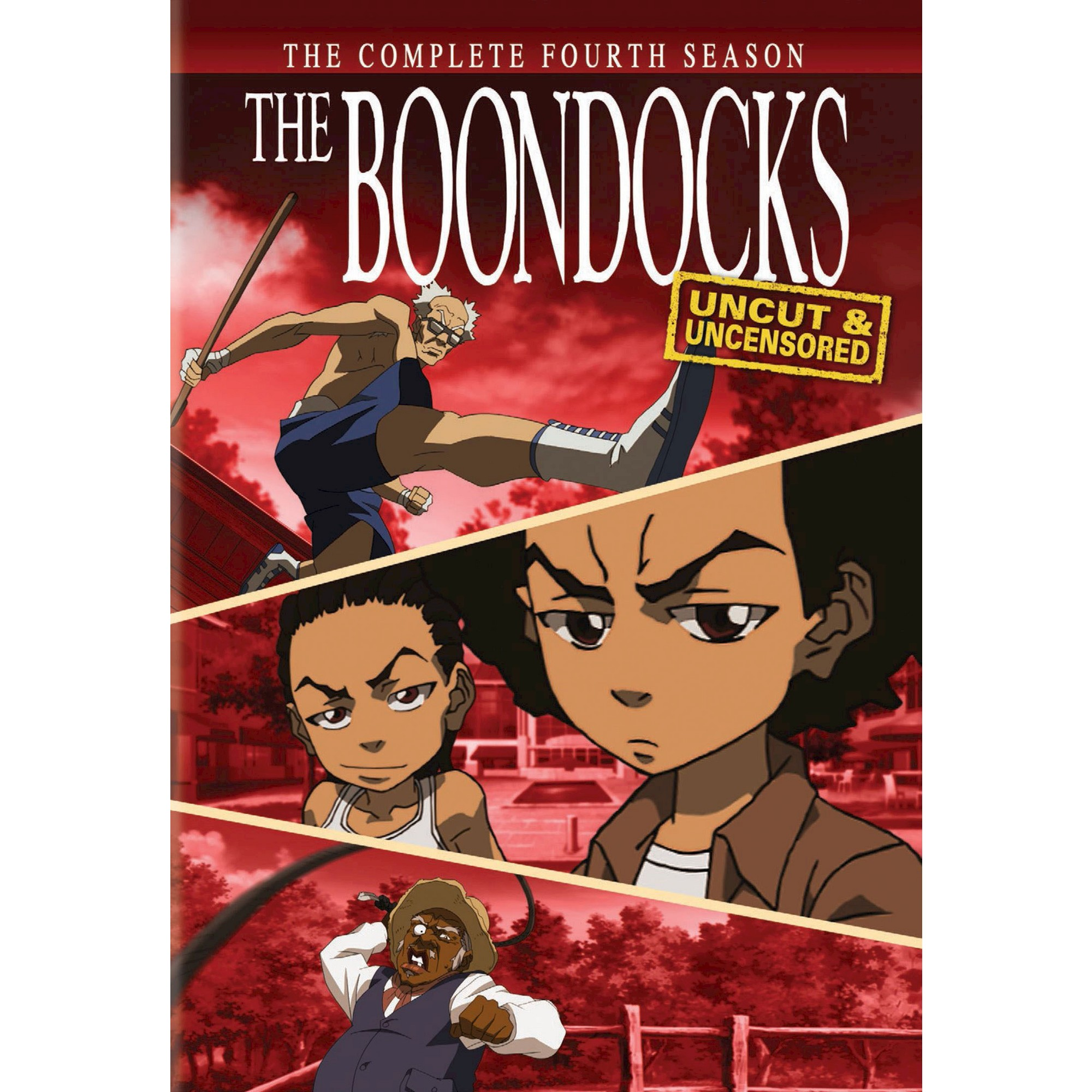 The Boondocks The Complete Fourth Season [4 Discs