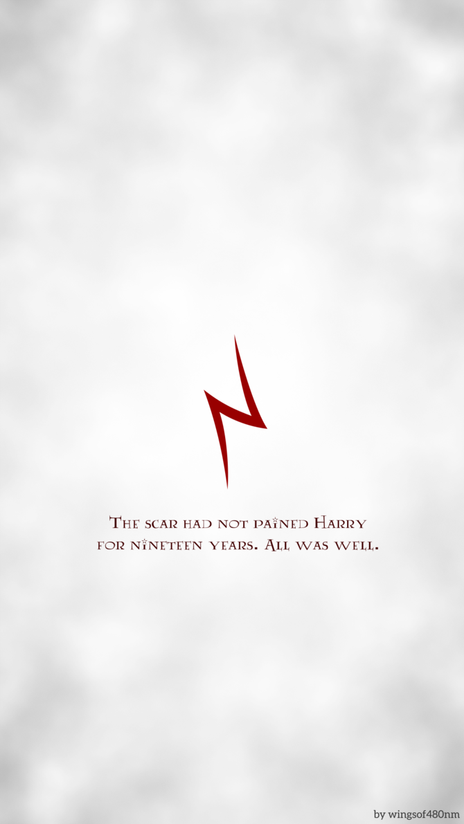 Hp Minimalist Background Harry S Scar By 480nm Harry Potter Iphone Wallpaper Harry Potter Iphone Harry Potter