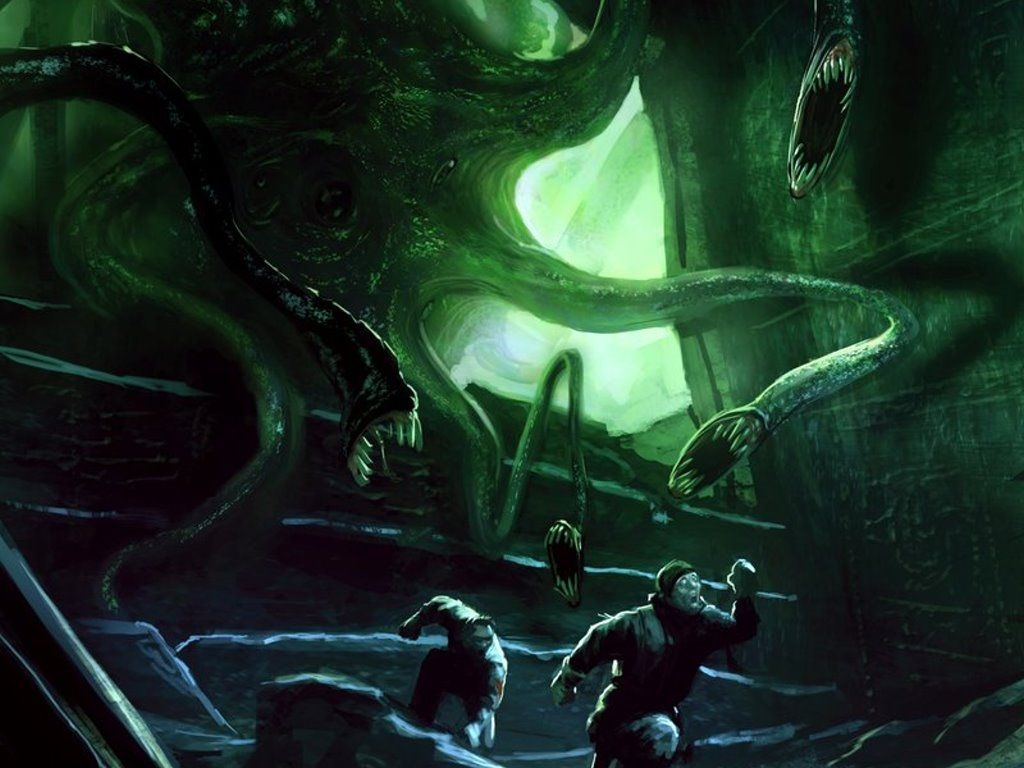Hp Lovecraft Art Wallpapers: Fantasy Wallpaper: Mountains Of Madness