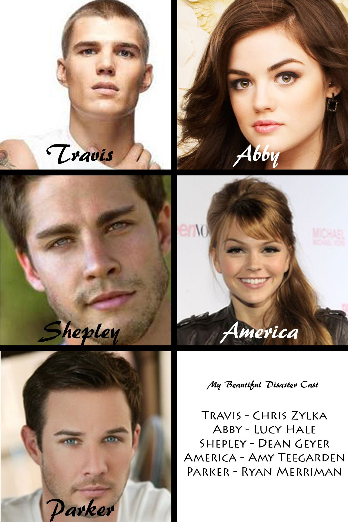 My Casting For Beautiful Disaster Movie Beautiful Disaster Cast Beautiful Disaster Disaster Book
