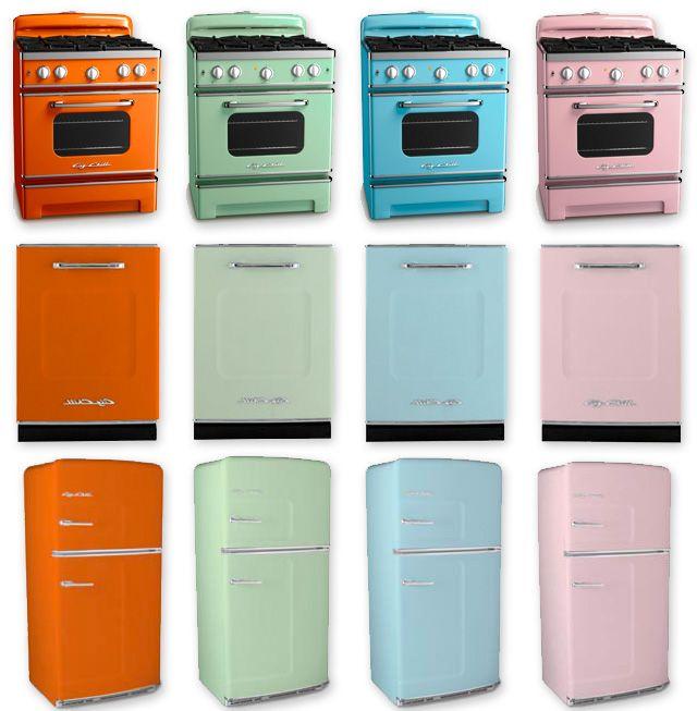 Return Of The Retro Kitchen Appliances Dream Home Retro