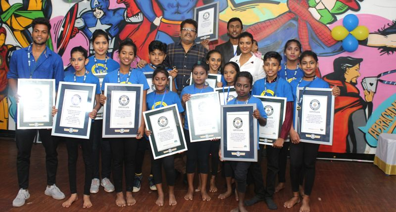 Actress Aishwarya Rajesh At Gokulnath Unique Talent Academy Press Meet