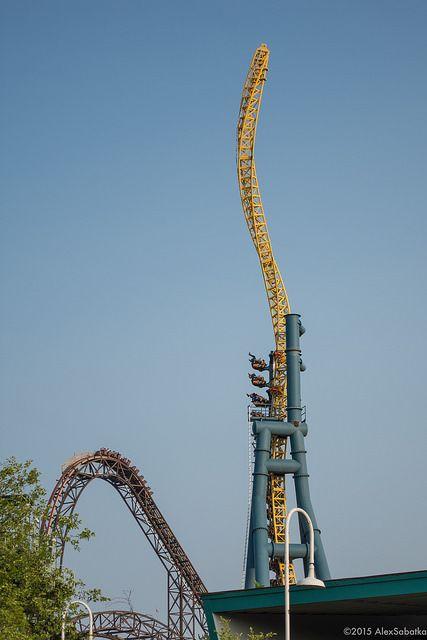 Coasterworld Great America Roller Coaster Goliath