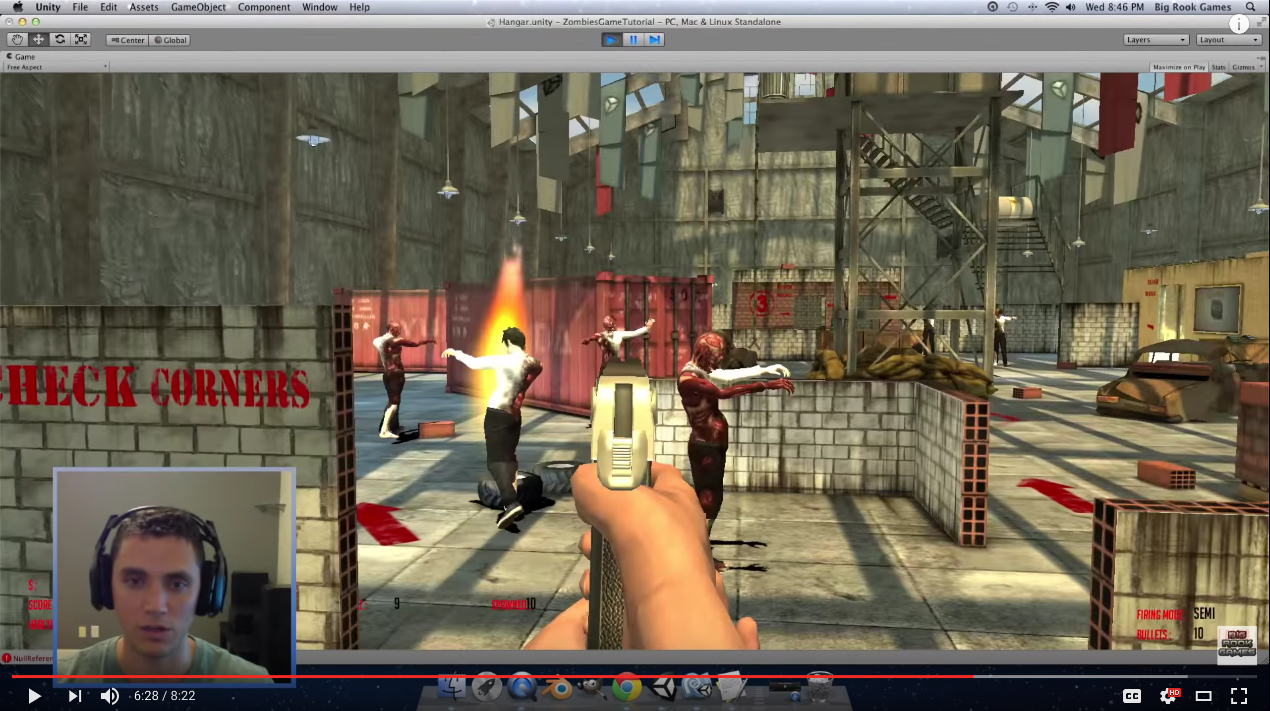 Tons of great Unity Tutorials by Big Rook Games   Unity Game ...
