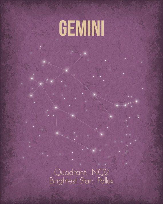 Gemini constellation ★