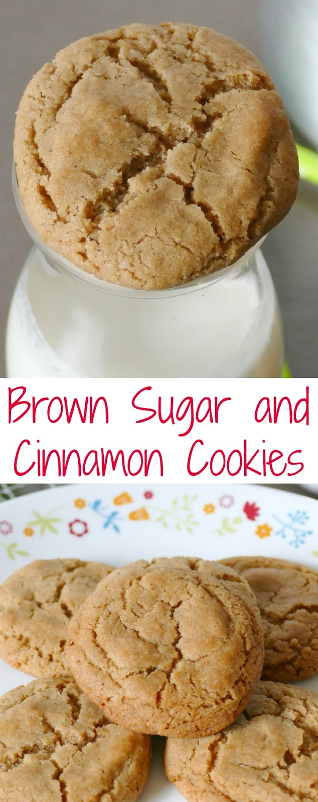 Brown Sugar and Cinnamon Cookies