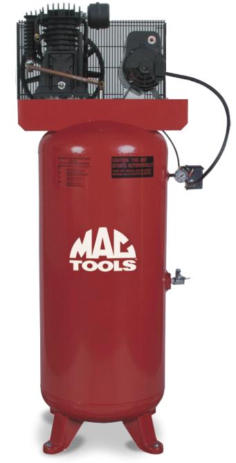 Mac TwoStage Medium Duty Air Compressor 2,177 Air
