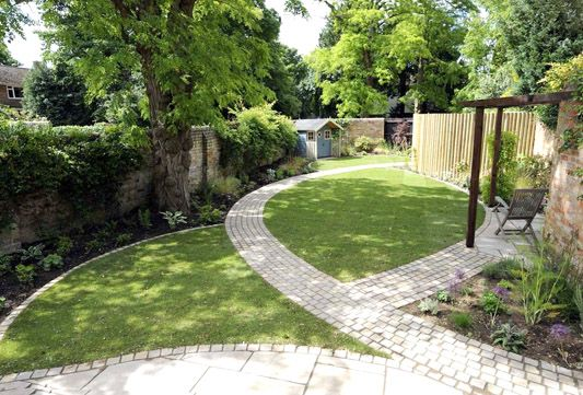 Creative ideas for a long narrow garden design | Backyard ... on Long Narrow Yard Landscape Design Ideas id=23170