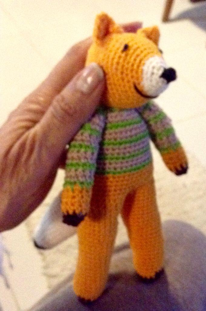 Crochet com linha de algodão
