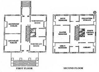 Clarke House Floor Plan Greek Revival Floor Plan Design Cottage Floor Plans House Floor Plans