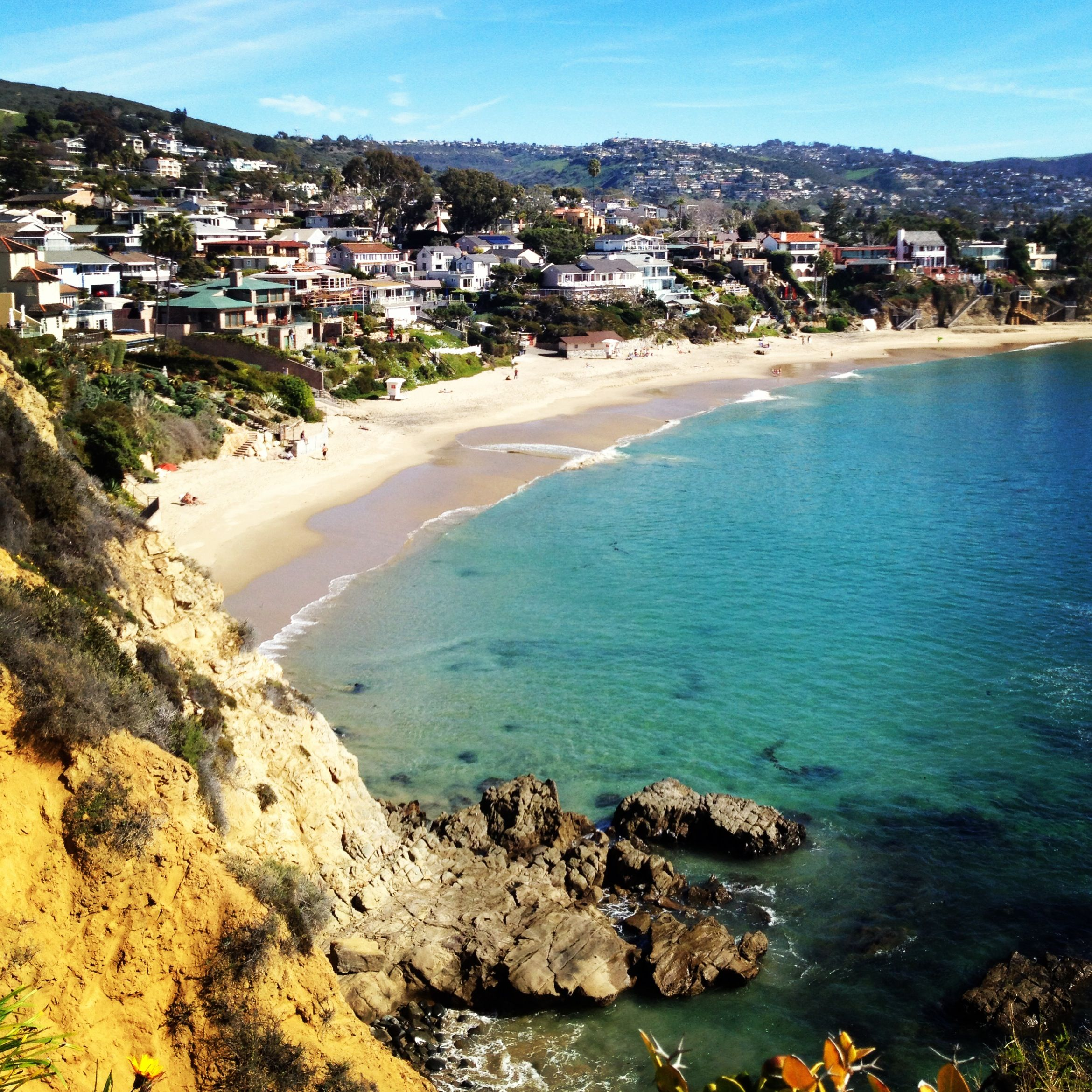 Crescent bay laguna beach orange county california for Pretty beaches in california