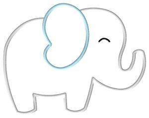 Free Elephant Applique Pattern Big Elephant Applique By