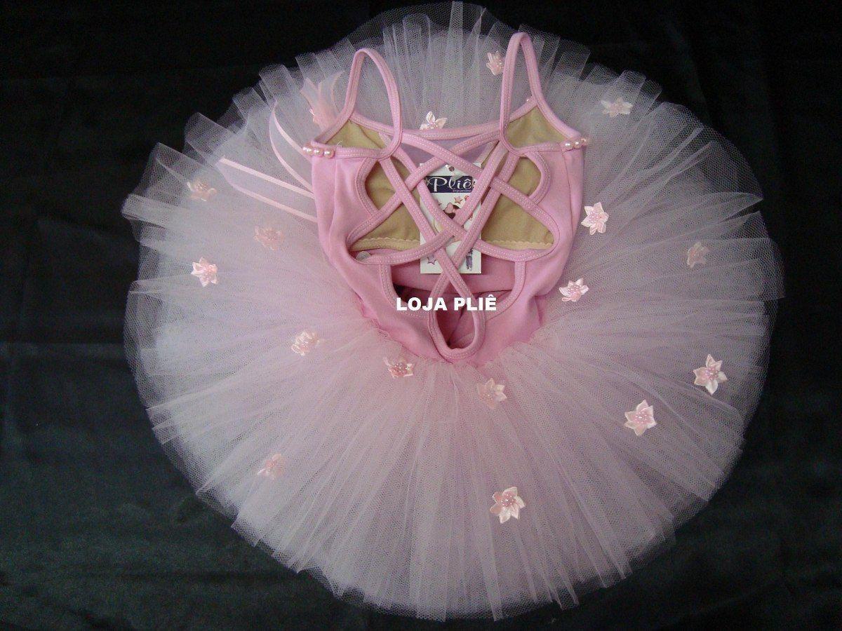 52e3581cea Kit Bailarina Tutu Figurino Ballet Roupa Fantasia Infantil - R  278 ...