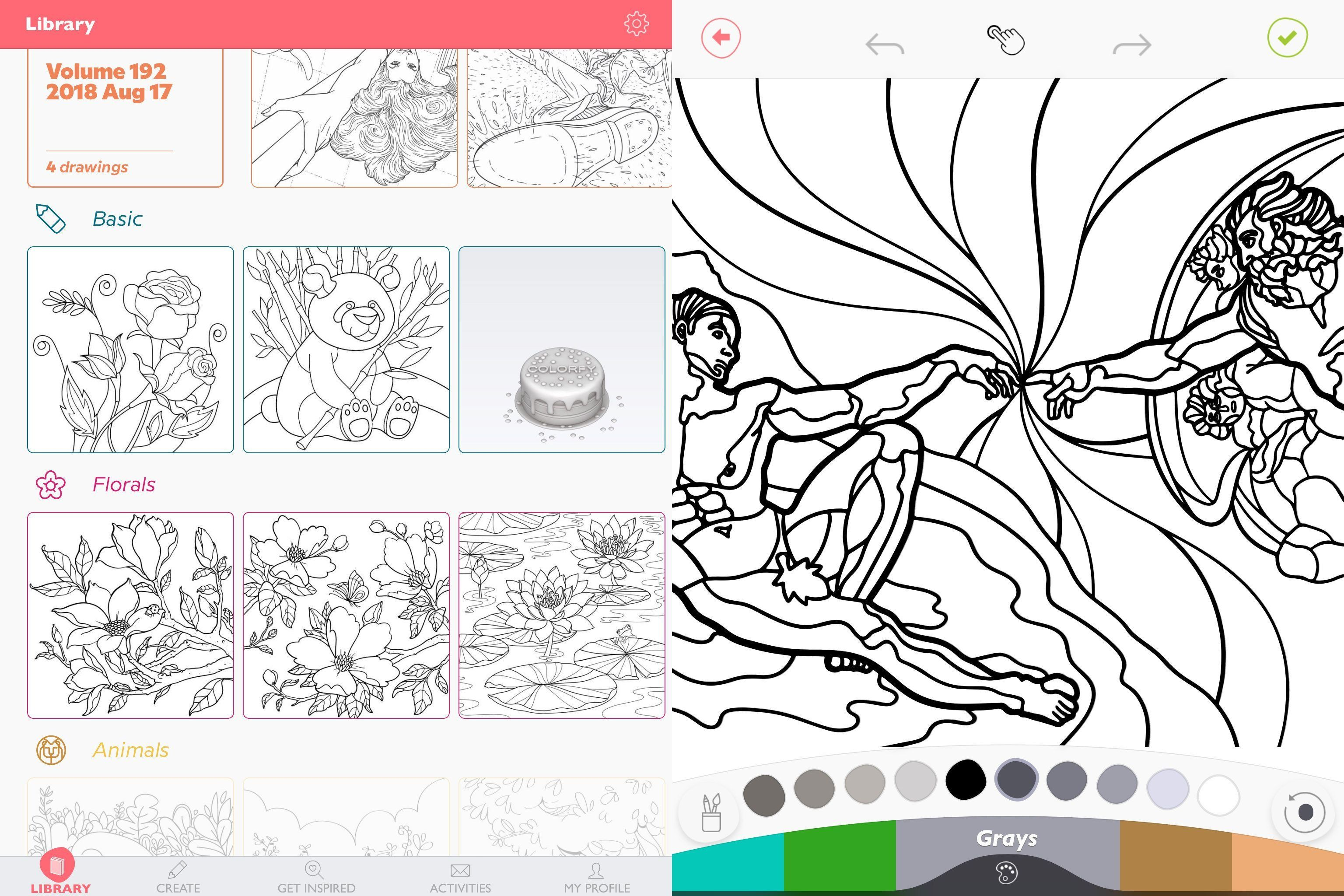 Colorfy Coloring Book Free Unique Coloring Pages Colorfy ...