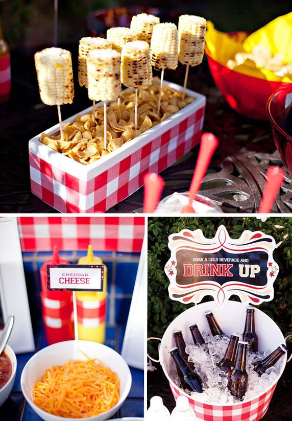 Summer Outdoor Bbq Ideas Love The Corn On Cobb