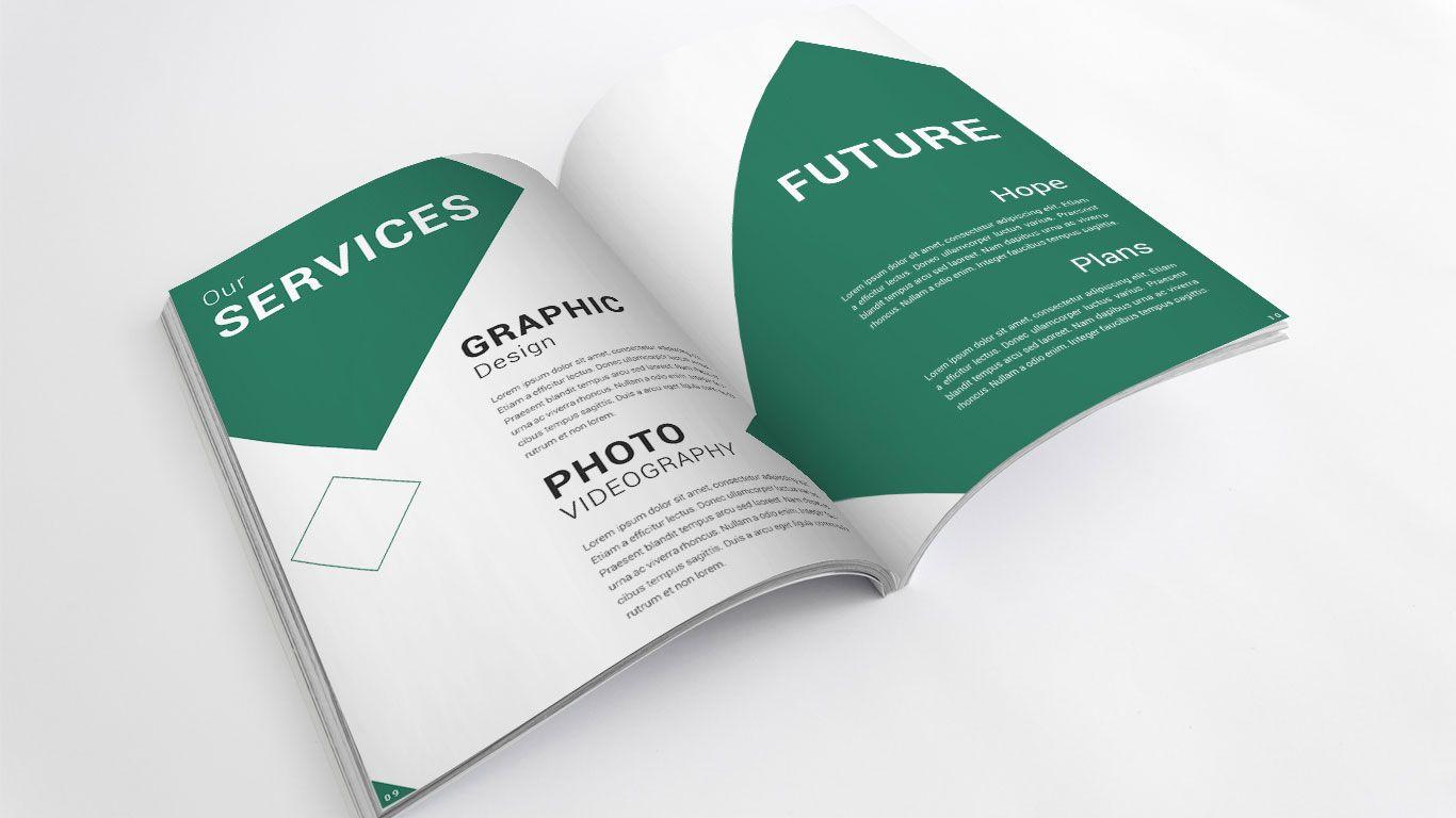 Company Profile Design  Graphic Design    Company